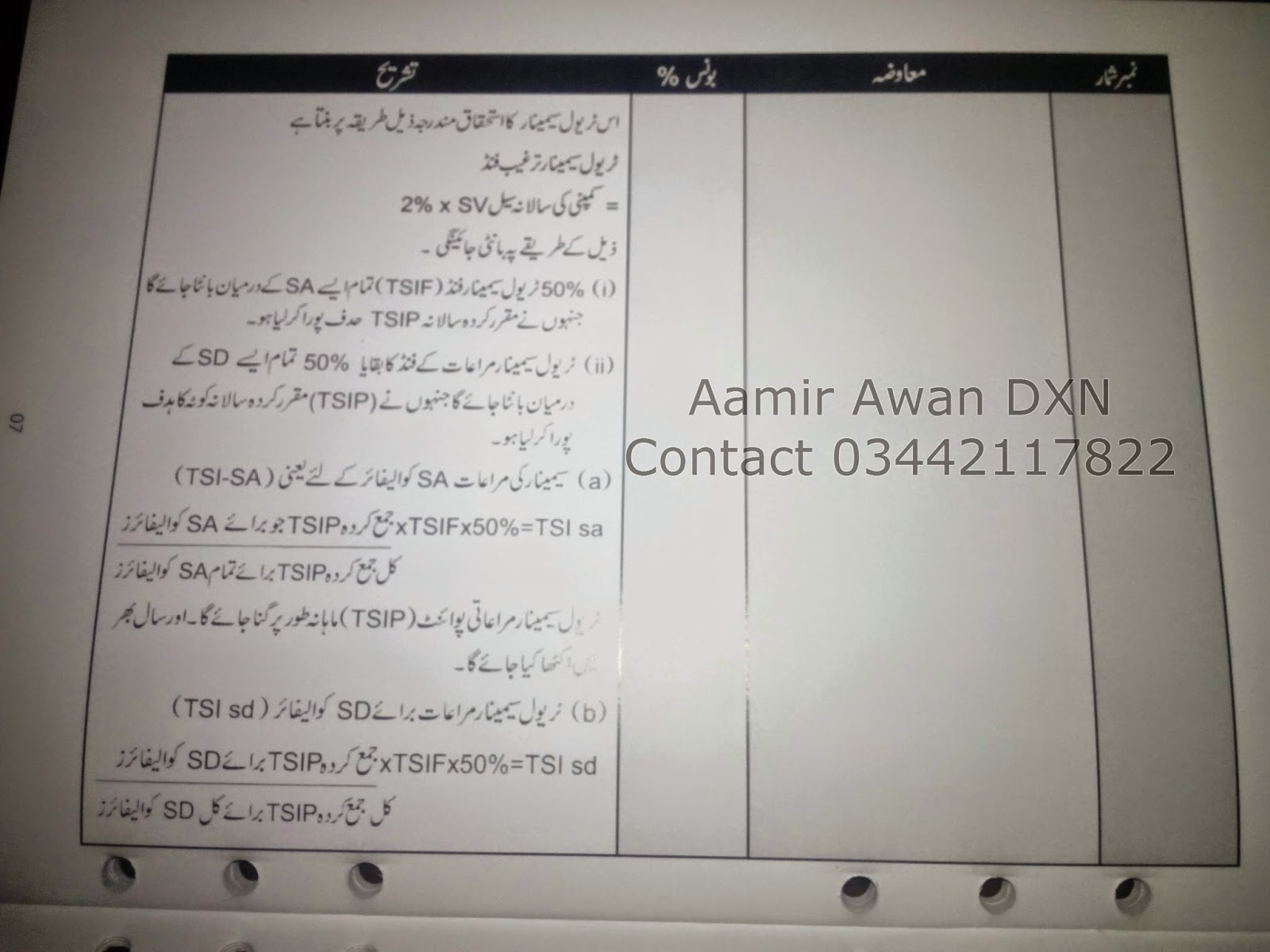 Dxn Marketing Plan Urdu Dxn Pakistan