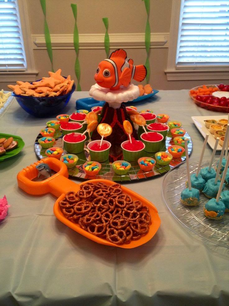 Decoración de Fiesta Infantil de Nemo