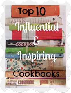 Top 10: most influential inspiring cookbooks