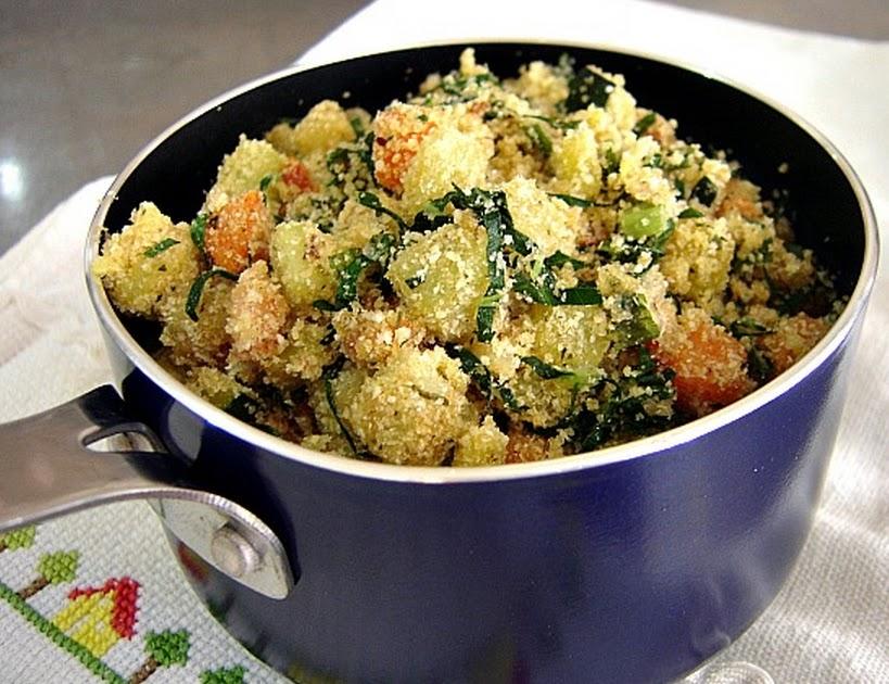 Farofa de Legumes (vegana)