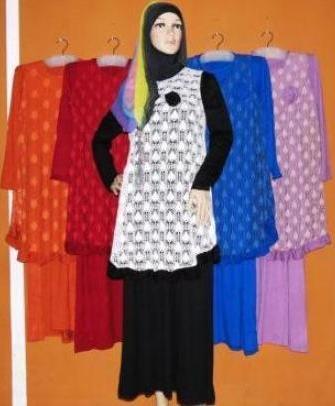 Baju lebaran 2015 murah model busana muslim 2014 trend Baju gamis remaja lebaran 2015