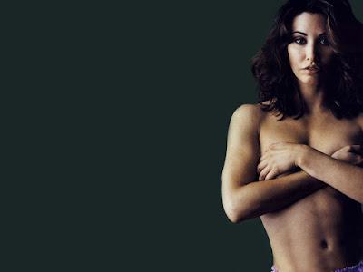 Gina Gershon Topless Wallpaper