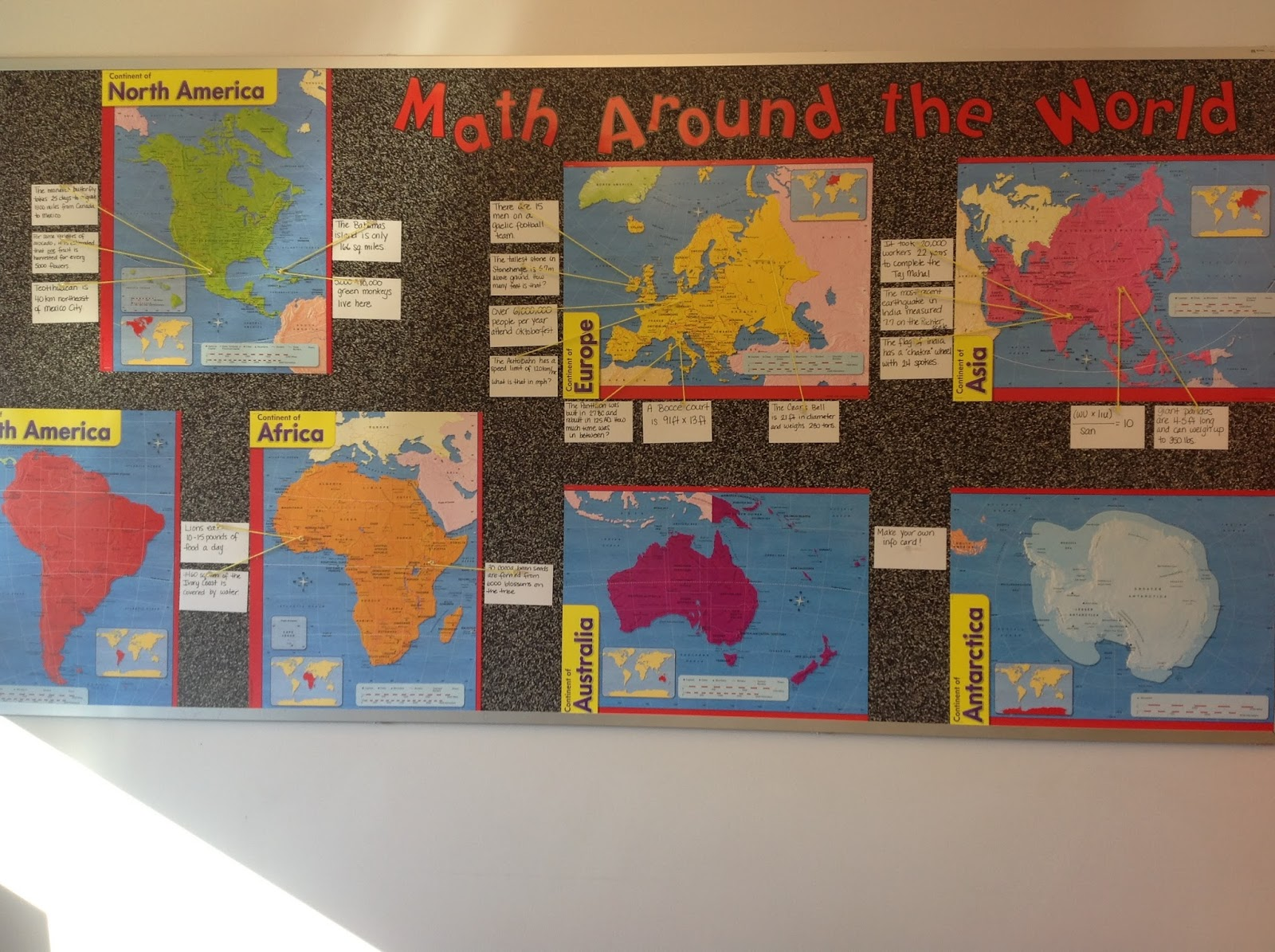 Classroom Decor Math ~ Mission math gearing up for the start post