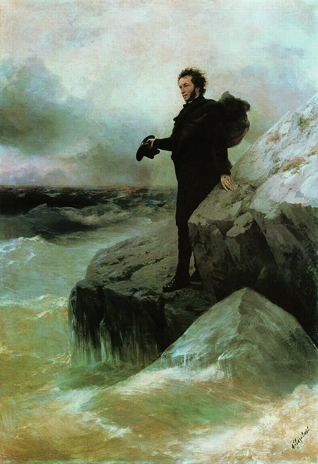 Pushkin à beira-mar&;, 1877, autoria de