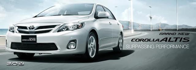 Mobil Sedan Corolla, mobil masa depan, generasi otomotif terbaik untuk Anda. Mobil Sedan Corolla Altis.