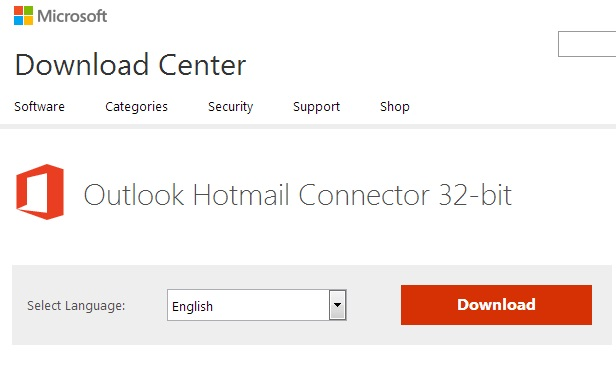 Download Outlook Connector
