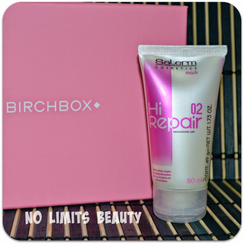 BirchBox - Hair Repair 02 Mask de Salerm Cosmetics