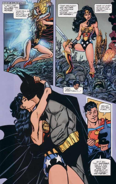 Is superman dating wonder woman