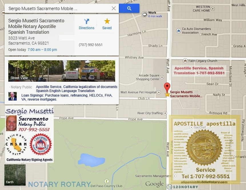 Mobile Notary Business Latest Notary Projects Sacramento California