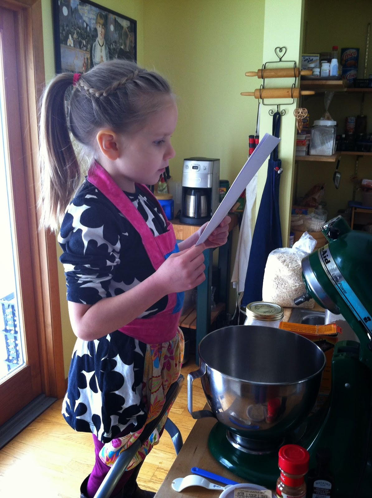 Cookies, Healthy Cookies, Baking with Children