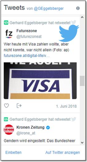 Eggetsberger auf Twitter