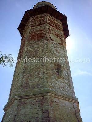 Cape Bojeador Lighthouse close up photo