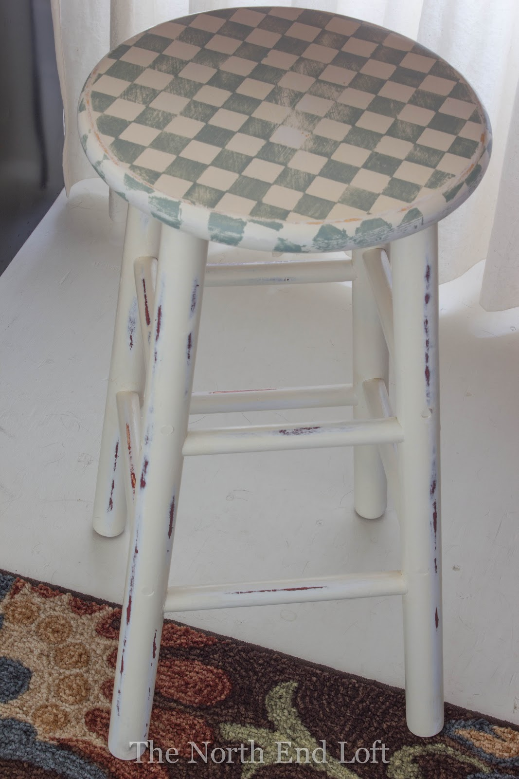 The North End Loft: Craft Room Stool