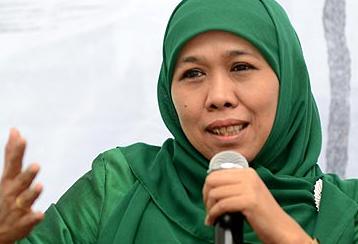 Menteri Sosial Khofifah Indar Parawangsa