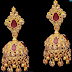 Uncut Diamond Jhumkas