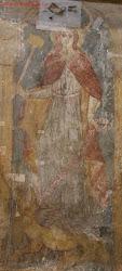 wandmalerei in linzer kirche