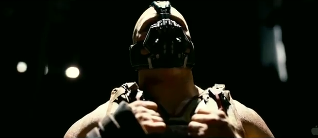 The Dark Knight Rises 2012 Batman 3 2012 DC Comics Batman Villain Bane Tom Hardy as Bane terrorist hulk