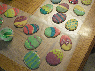 Easter egg Sugar cookies