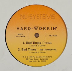 Hard-Workin' – Bad Times / All I Need Is You 1986