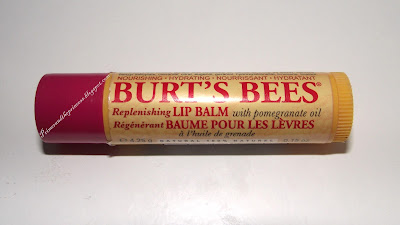 Burt's Bees Replenishing Lip Balm With Pomegranate Oil Review