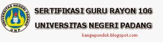 Hasil PLPG Angkatan 3 Rayon 106 Universitas Negeri Padang