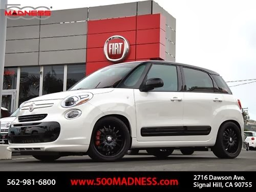 First Modified Fiat 500l At Motor Trend Auto Show Fiat