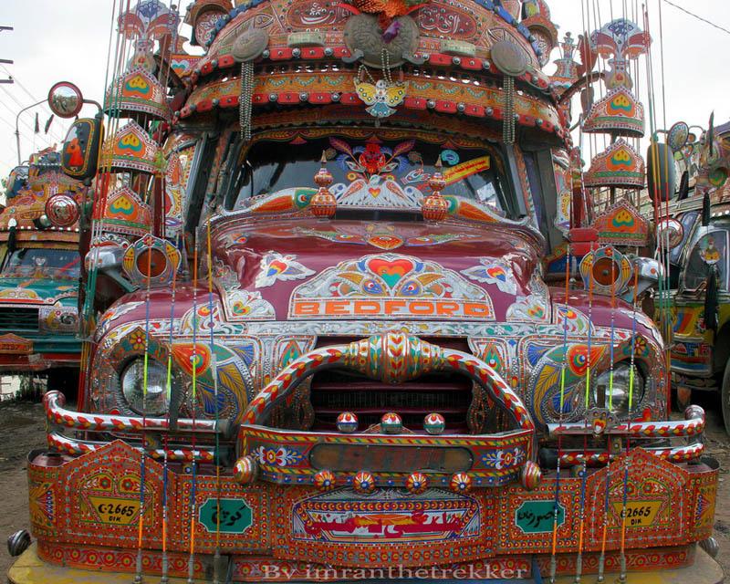 Pakistani Truck Art Damn Cool Pictures