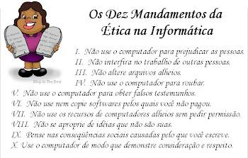 Os dez mandamentos da ética na informática