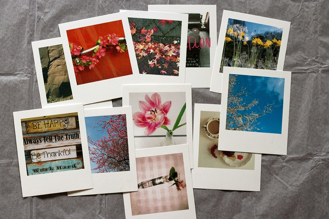 polaroid Instagram photos
