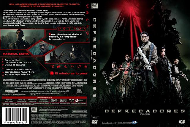 Predators (Depredadores) DVD