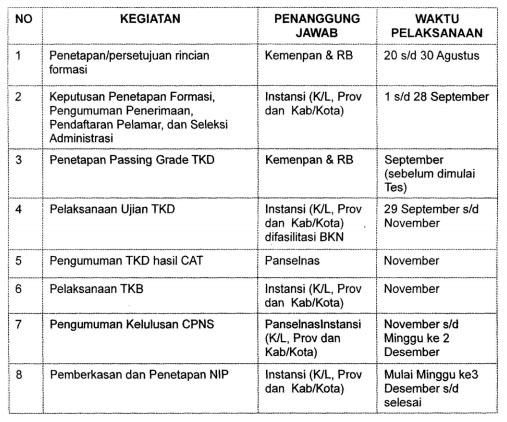 Jadwal Pendaftaran CPNS Pelamar Umum dengan Sistem CAT Tahun 2013, Jadwal Pendaftaran CPNS Jalur Umum Sistem Computer Assisted Test Tahun 2013, Pendaftaran CPNS 2013