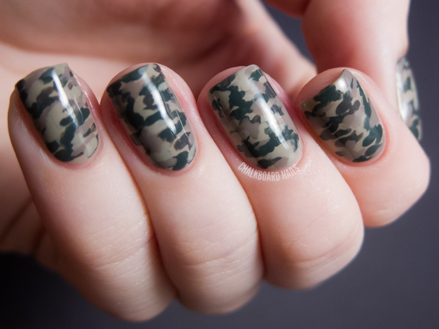Camouflage nails with the lcn urban expression box set based on my nail art experience with them they should only need two coats for opacity they applied well and were creamy smooth prinsesfo Choice Image