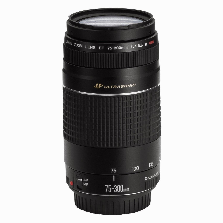Harga Lensa Kamera Canon EF 75-300mm f/4-5.6 III USM Terbaru