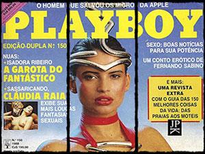Isadora Ribeiro Playboy de Janeiro 1988