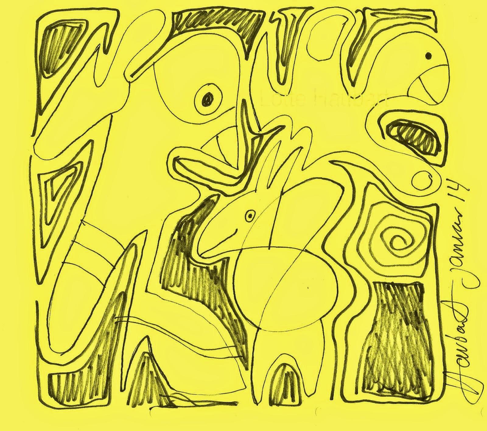 tegning af henselv