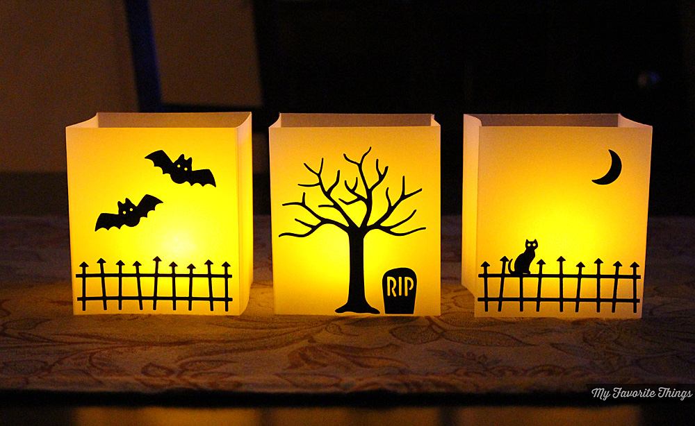 MFT Release Countdown DIY Halloween Luminaries