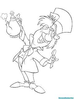 Mad hatter penghuni Wonderland