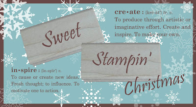 Christmas at Sweet Stampin' Challenge Blog