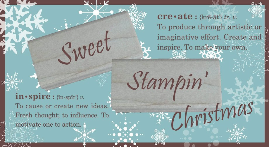 Christmas at Sweet Stampin&#39; Challenge Blog
