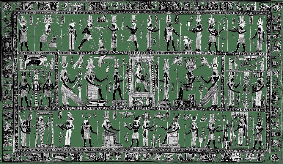 PANTEÓN EGIPCIO