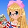 لعبة تلبيس فتاة الانمي المثقفة Anime bookworm girl dress up