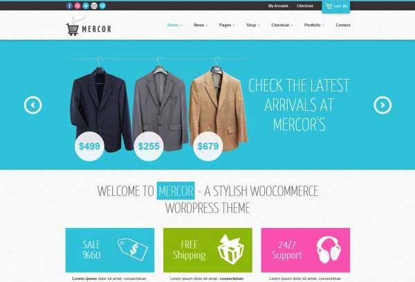 Mercor - Responsive WooCommerce Theme
