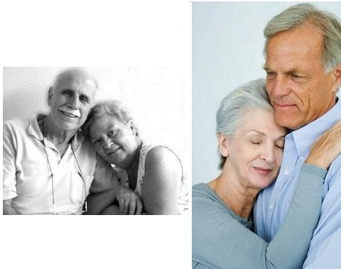 Mature love is the kind of love that is done in couples who have spent years ...