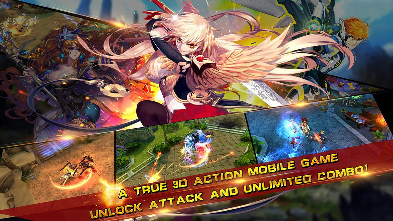 Art of Sword English Gameplay IOS / Android
