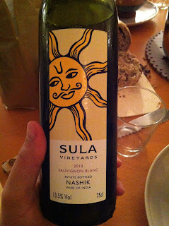 Sula Winery, Sauvignon Blanc 2010 (grape), Nashik
