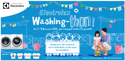 Electrolux Washing-thon - 1st Outdoor Washing Marathon