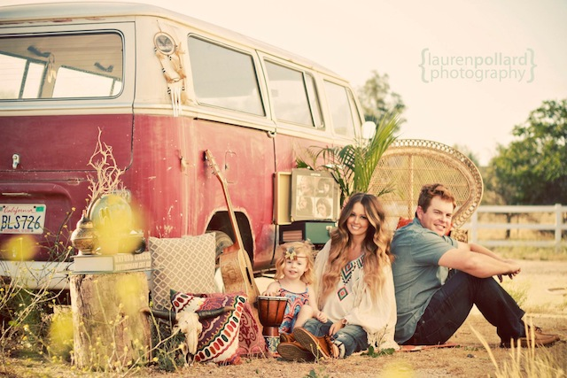 Fawn Over Baby Bohemian Style Family Session By Lauren