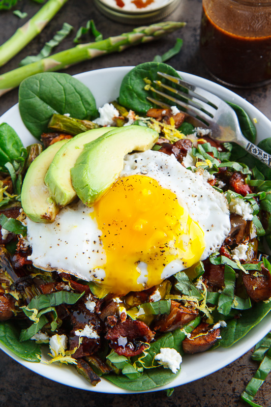 Chicken bacon eggs recipe
