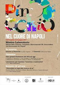 Pinocchio nel cuore di Napoli