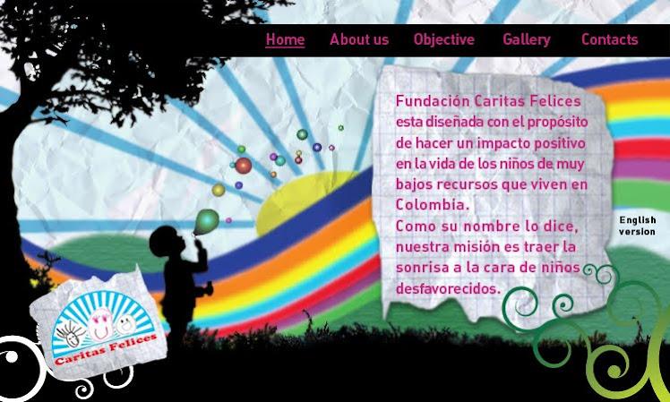 Diseño Web Caritas Felices